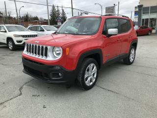 Used 2018 Jeep Renegade Limited 4x4 for sale in Sherbrooke, QC