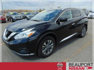 Used 2017 Nissan Murano SL AWD ***GARANTIE PROLONGÉE*** for sale in Beauport, QC