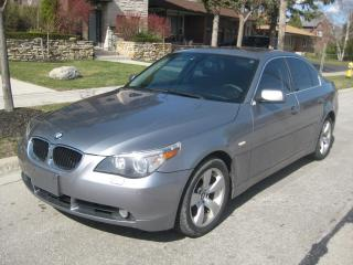 Used 2005 BMW 5 Series 530i, NO ACCIDENTS, HGHY KMS, IN EXCELLENT COND for sale in Toronto, ON
