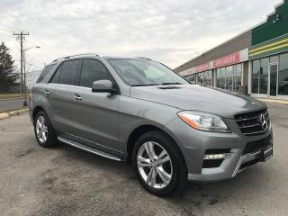 Used 2014 Mercedes-Benz ML-Class SOLD for sale in Toronto, ON