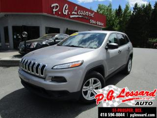 Used 2016 Jeep Cherokee Sport 4x4 Siège for sale in St-Prosper, QC