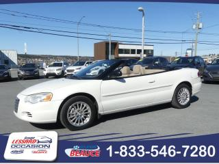 Used 2004 Chrysler Sebring CONVERTIBLE TRES BAS KILO!!! for sale in St-Georges, QC