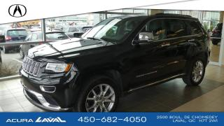 Used 2016 Jeep Grand Cherokee Summit 4X4 *DIESEL* for sale in Laval, QC