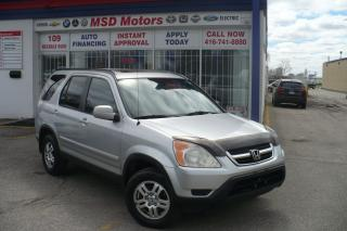 Used 2003 Honda CR-V EX-L   LEATHER/ROOF for sale in Toronto, ON