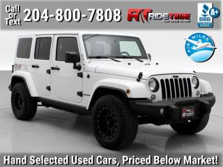 Used 2016 Jeep Wrangler Unlimited Sahara for sale in Winnipeg, MB