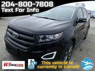 Used 2016 Ford Edge SPORT for sale in Winnipeg, MB