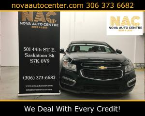 Used 2015 Chevrolet Cruze LT for sale in Saskatoon, SK