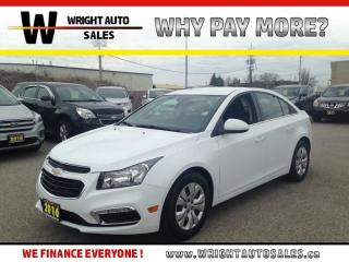 Used 2016 Chevrolet Cruze LT|BACKUP CAMERA|BLUETOOTH|41,356 KMS for sale in Cambridge, ON