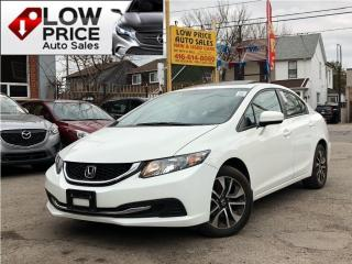 Used 2015 Honda Civic Sedan EX for sale in Toronto, ON
