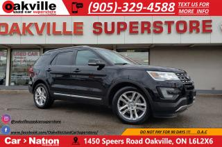 Used 2017 Ford Explorer XLT | PANO ROOF | NAV | RARE | CAPTAINS CHAIRS for sale in Oakville, ON