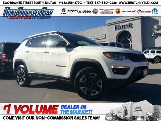 Used 2018 Jeep Compass TRAILHAWK | 4X4 | TOW | COLD WTHR & MORE!!! for sale in Milton, ON