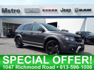 Used 2018 Dodge Journey Crossroad -AWD-Fully Loaded for sale in Ottawa, ON