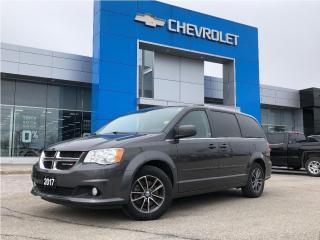 Used 2017 Dodge Grand Caravan SXT Premium Plus for sale in Barrie, ON