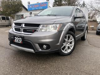 Used 2013 Dodge Journey AWD 4dr R/T 7 PASSANGER DVD NAVIGATION,SUNROOF for sale in Brampton, ON