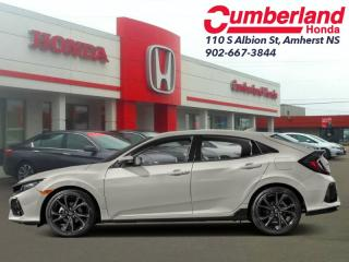 New 2019 Honda Civic Hatchback Sport Touring 6MT for sale in Amherst, NS