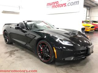 Used 2016 Chevrolet Corvette 3LT Nav Suede Convertible Low KMs for sale in St. George Brant, ON