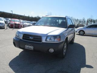 Used 2004 Subaru Forester 5dr Wgn X for sale in Newmarket, ON