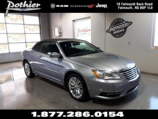 Used 2013 Chrysler 200 Convertible Touring | 6.5 TOUCHSCREEN | ALLOW WHEELS | for sale in Falmouth, NS