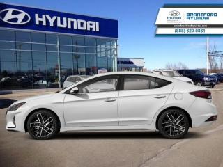 New 2019 Hyundai Elantra Sport MT  - Sunroof -  Leather Seats - $136.48 B/W for sale in Brantford, ON