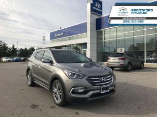 Used 2018 Hyundai Santa Fe Sport Limited AWD  - Navigation - $282.12 B/W for sale in Brantford, ON