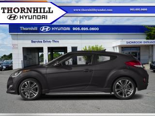 Used 2017 Hyundai Veloster Turbo  - Bluetooth -  Navigation for sale in Thornhill, ON