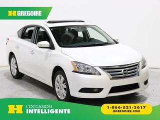 Used 2014 Nissan Sentra SL A/C CUIR TOIT for sale in St-Léonard, QC
