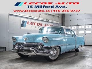 Used 1954 Cadillac Coupe De Ville Rebuit Engine & Transmission, frint Disc Brake Con for sale in North York, ON
