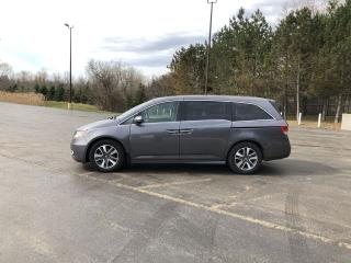 Used 2015 Honda Odyssey Touring Elite FWD for sale in Cayuga, ON