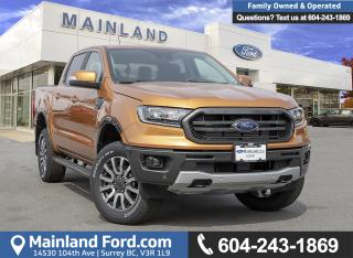 New 2019 Ford Ranger LARIAT for sale in Surrey, BC