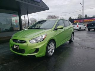 Used 2013 Hyundai Accent GL for sale in Brantford, ON