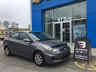 Used 2016 Hyundai Accent for sale in Gatineau, QC