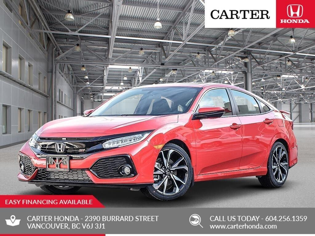Used 2019 Honda Civic Si For Sale In Vancouver British Columbia