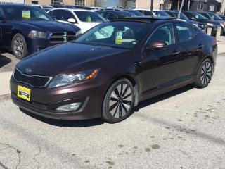 Used 2011 Kia Optima 4dr Sdn Turbo SX for sale in Scarborough, ON