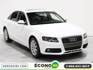 Used 2010 Audi A4 2.0T TOIT CUIR for sale in St-Léonard, QC