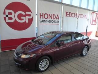 Used 2013 Honda Civic LX for sale in St-Georges, QC