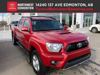 Used 2015 Toyota Tacoma 4WD DBL CAB V6 AU | Bluetooth | Keyless Entry | A/ for sale in Edmonton, AB