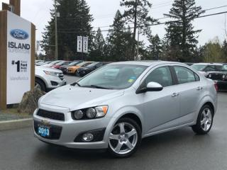Used 2013 Chevrolet Sonic LTZ, Moonroof, Leatherette Seats for sale in Duncan, BC