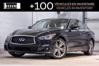 Used 2018 Infiniti Q50 2018 Infiniti Q50 - 3.0t SPORT AWD for sale in Montréal, QC