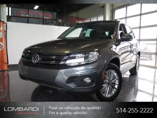 Used 2016 Volkswagen Tiguan EDITION SPECIAL|AWD|CAM|BLUETOOTH| for sale in Montréal, QC