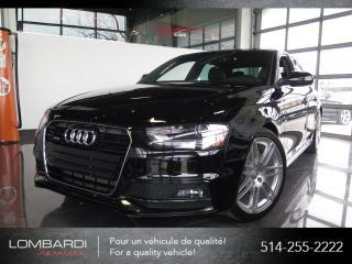 Used 2014 Audi A4 PROGRESSIV|S-LINE|QUATTRO|NAVI| for sale in Montréal, QC