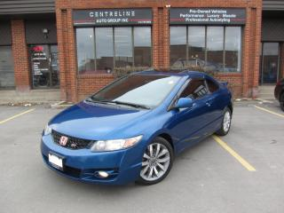 Used 2010 Honda Civic Si $6,495+HST+LIC FEE / CERTIFIED / 6-SPEED for sale in North York, ON