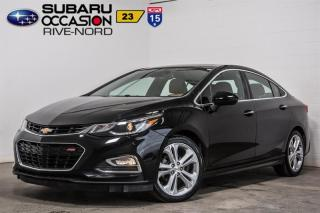 Used 2017 Chevrolet Cruze Premier RS for sale in Boisbriand, QC