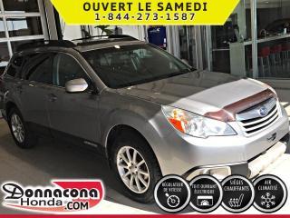 Used 2011 Subaru Outback ***TOIT OUVRANT***JAMAIS ACCIDENTÉ*** for sale in Donnacona, QC