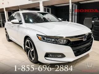 Used 2018 Honda Accord SPORT + DÉMO + 3500$ DE RABAIS !! for sale in St-Basile-le-Grand, QC