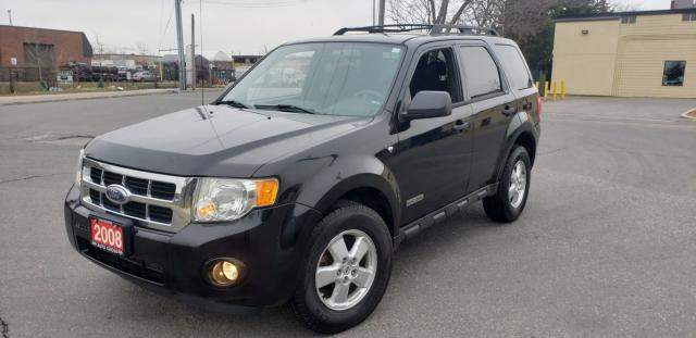 2008 Ford Escape 4 door, automatic, 3 Years warranty available.