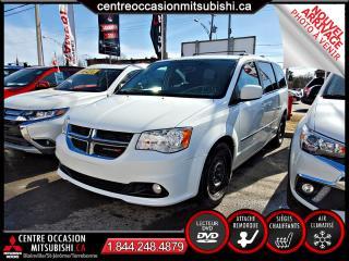 Used 2016 Dodge Grand Caravan CREW STOW N GO  NAV + DVD+ VOLANTET SIEG for sale in Blainville, QC
