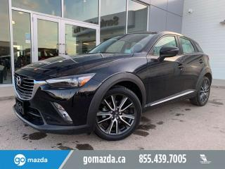 Used 2016 Mazda CX-3 GT LEATHER SUNROOF NAV BOSE UNLIMITED MILEAGE WARRANTY for sale in Edmonton, AB