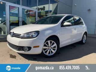 Used 2012 Volkswagen Golf COMFORTLINE for sale in Edmonton, AB