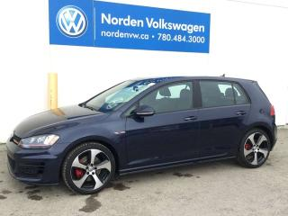 Used 2016 Volkswagen Golf GTI AUTOBAHN 5DR DSG - VW CERTIFIED / LEATHER PKG / TECH PKG for sale in Edmonton, AB