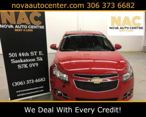 Used 2013 Chevrolet Cruze RS  Package for sale in Saskatoon, SK